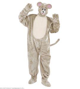 Plüsch Maus Kostüm - Mäusekostüm - Tierkostüm Plüschkostüm  Standardgröße
