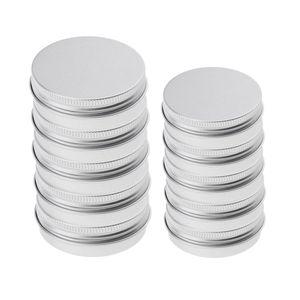 10x 25 / 150ml Aluminium Cremedose Leer Dose Blechdose Kosmetikdose Aluminium Dose für Lippenbalsam, Nagelkunst