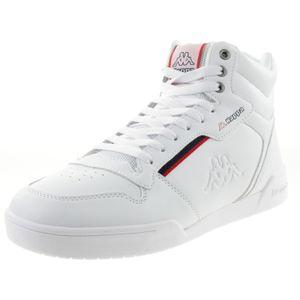 Kappa Mangan Unisex Hoher Sneaker 242764 weiss, Schuhgröße:39 EU