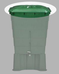 Deckel für Garantia Regentonne eckig 300 Liter grün