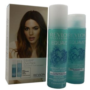 Revlon Equave Instant Beauty Hydro Keratin Duo Pack Conditioner & Shampoo Set