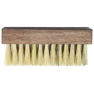 Holz Cremebürste Schuhbürste mit Naturborsten - für die Reinigung oder Politur
