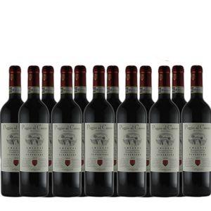Rotwein Italien Chianti Superiore trocken (12 x 0,75l)