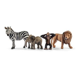 Schleich - Tierfiguren, Wild Life Starter-Set; 42387