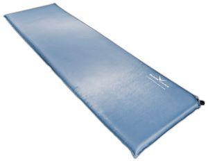 BLACK CREVICE - selbstaufblasende Unterlagsmatte/Isomatte - 200 x 66 x 3 cm - Hellblau
