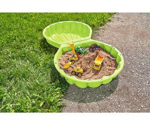 BIG Outdoor Spielzeug Garten Sandkasten, Wasserschale Sandshell grŸn 800007723