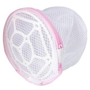 Faltbare Anti-Deform Waschmaschine Unterwäsche BH Wäschesack Reißverschluss Mesh Pouch