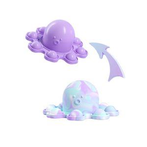 1 Stück Pop it! Zappelspielzeug Antistress Spielzeug für erwachsene Kinder Push Bubble Fidget Sensory Toy-Lila