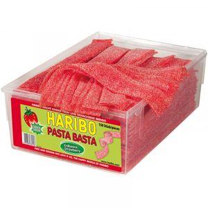 Haribo Pasta Basta Erdbeere mit saurem Frucht Geschmack 1125g