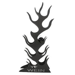 Design Weinregal Flamme für 10 Flaschen Weinständer Wein Regal Flame #332