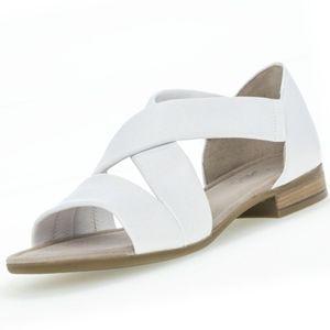 GABOR Comfort Damen Sandalen Weiß, Schuhgröße:EUR 40.5