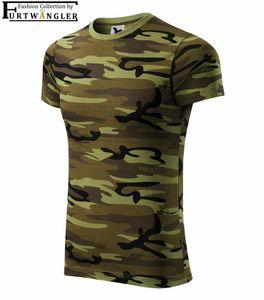 T-Shirt Camouflage 146 / 10 Jahre grün Furtwängler Freizeitshirt Baumwolle 160 g/m²