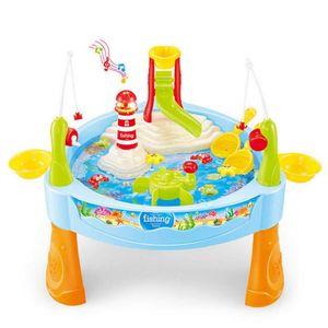 25 Stück Sandkastentisch Wasser | spieltisch wassertisch | wassertisch spielzeug kinder, Angelspielzeug Kit für Babys
