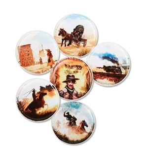 ergobag Accessoires Klettbilder-Set 6-tlg Kletties Cowboy Wild