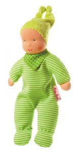 Käthe Kruse Baby Schatzi grün