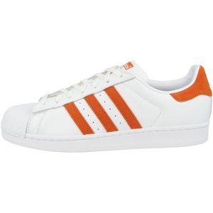 adidas Originals Superstar Sneaker Turnschuhe Schuhe Weiß, Größe:44
