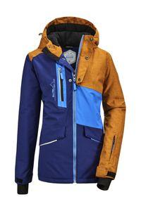 killtec Jungen Skijacke Flumet BYS Ski JCKT A, Farbe:dunkelblau, Größe:128