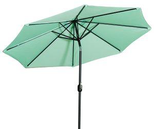 Gartenfreude Sonnenschirm - Ø 270 cm - H 245 cm, hellgrün; 4900-1000-113