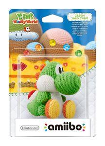 Nintendo amiibo Green Yarn Yoshi Woolly World Collection