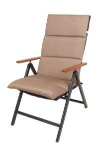 Rollstep Hochlehner-Auflage CHESTNUT - Farbe: braun