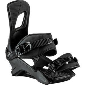 Nitro Herren Snowboardbindung RAMBLER Bdg.´18 , Größe:L, Farbe:schwarz, Farben:blackout
