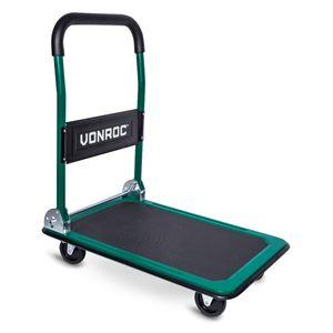 VONROC Transportwagen– Klappbar – Traglast max. 150 kg.