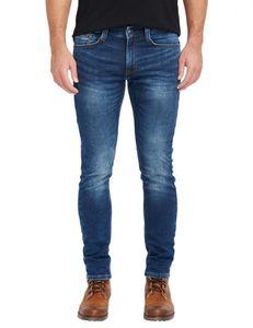Mustang Oregon Tapered K Herren Slim Fit Sweat Jeans / Used-Finish , Größe*:W35 L30