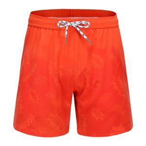 Herren Aquarellwechsel Badehose Strandhose Warme Farbwechsel Shorts Größe:S,Farbe:Schwarz
