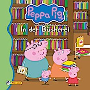 Korda, S: Maxi-Mini 1: Peppa: In der Bücherei