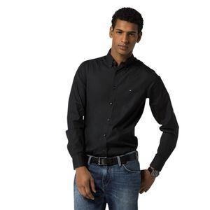 Hilfiger Men Hemd, Farbe:083 BLACK, Größe:XXL
