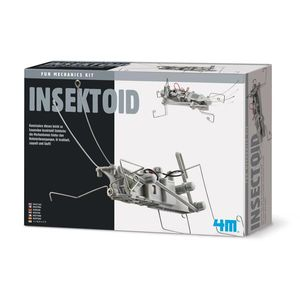 4M HCM68476 - Insektoid, Bausatz, Roboter, Forschen, Experimentieren 4018928684765