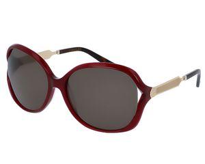 GUCCI Damen Sonnenbrille BRAUN-GOLD-SCHWARZ, 60