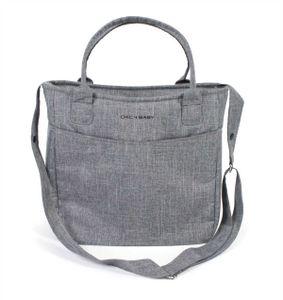 Chic 4 Baby Windeltasche Wickeltasche Gala Jeans grey