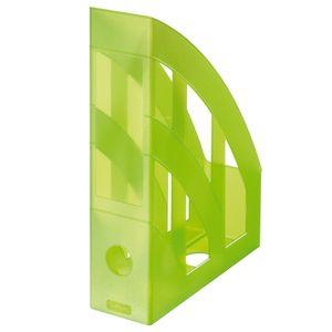 Herlitz Stehsammler / Plastik Stehordner / Farbe: transluzent hellgrün