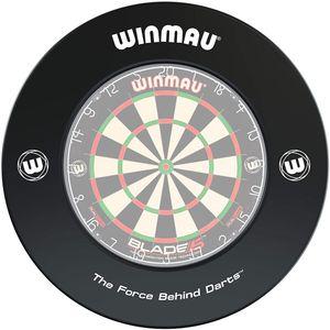 Winmau Dart Catchring Surround in Schwarz Ø 68 cm für Steel Dart Steeldart Boards