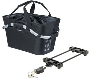 Basil Classic Hinterrad-Korb Carry All für Racktime Set