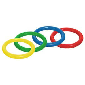 TOGU Tauchring aus PVC, ø 16 cm, 4er Set, Wasserspielzeug
