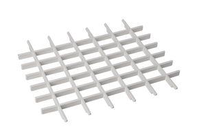 Universal-Gitter für Hänge-Ausgussbecken Spülbecken Waschtrog Spüle weiß Kunststoff