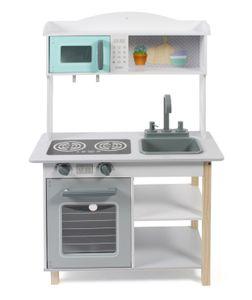 Kinderküche, weiß-mint