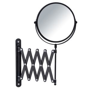 Kosmetik-Wandspiegel Teleskop Exclusiv Schwarz