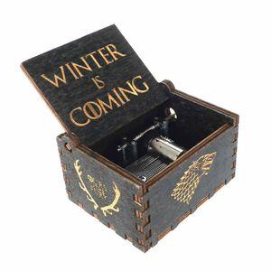 Game of Thrones Spieluhr aus Holz mit der Titelmelodie | Variante: Dunkel