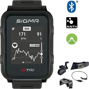 Sigma Sport Sportuhr Id.tri Black Set