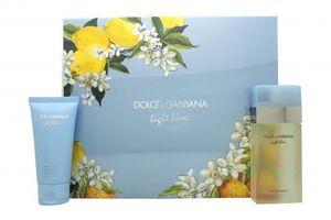 Dolce & Gabbana Light Blue Gift Set 50ml EDT &#43  50ml Body Lotion
