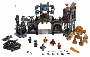 LEGO® DC Universe Super Heroes™ Clayface Invasion in die Bathöhle, 76122