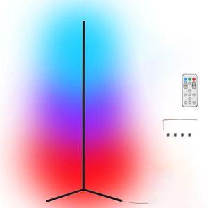 Tuya Wifi Smart L ife RGB LED Eckstehlampe Hintergrund Atmosphaeren Lampe Living Stehlampe Stehende Beleuchtung Kompatibel mit Google Home, Amazon Alexa, IFTTT