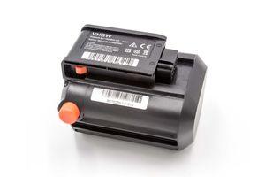 vhbw Akku passend für Gardena Akku-Trimmer ComfortCut Li-18/23 R & EasyCut Li-18/23 R ersetzt BLi-18 (9840-20, 9839-20) - (Li-Ion, 1500mAh, 18V)