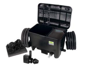 TIP Mehrkammer Teichaußenfilter WDF 10000 max. Fö. 2.400l/h