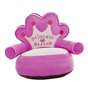 1 Stück Kindersofa Sitzbezug 2 20x20 Zoll 01 Lila