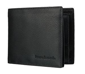 bruno banani Herren Geldbörse Portemonnaie Geldbeutel Schwarz 4114