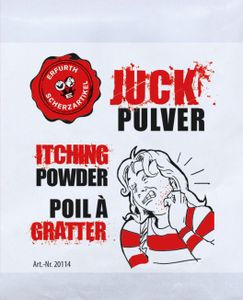 Juckpulver Juck Pulver Itching Powder Scherzartikel